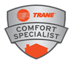 Furnace Repair Service Dale City VA - Comfortable Air Services - logo-trane